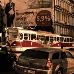 Strassenbahn in Prag