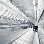 U-Bahnhof Rolltreppe Prag
