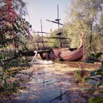 Spreepark Berlin Piratenschiff