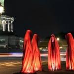 Siegessäule mit den Wächtern der Zeit, Festival of Lights 2011