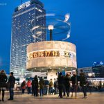 Weltzeituhr am Alexanderplatz 2017