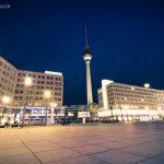 Fernsehturm am Alexanderplatz 2017