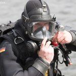 Marine Taucher beim Wassersportfest 2017