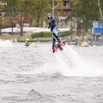 Flyboarder beim Wassersportfest 2017