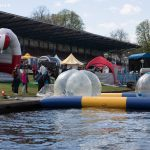 Wasserbälle beim Wassersportfest 2017