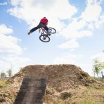 Dirt-Jump in Adlershof, Rider: Benjamin Messinger