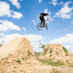 Dirt-Jump in Adlershof, Rider: Norman Sommer