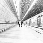 Prag, Praha 2013, U-Bahn