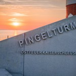 Bremerhaven Sonnenuntergang, Pingelturm